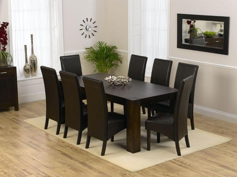 Stunning 8 Seater Dining Tables And Chairs 77 With Additional In Most Recently Released Black 8 Seater Dining Tables (Image 20 of 20)