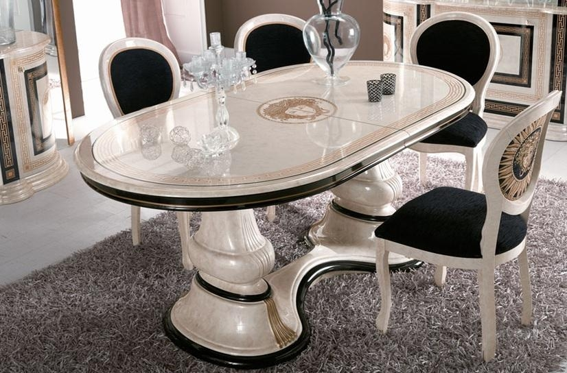 Stunning Italian Dining Table And Chairs Agreeable Italian Dining Intended For Most Recently Released Italian Dining Tables (Image 16 of 20)
