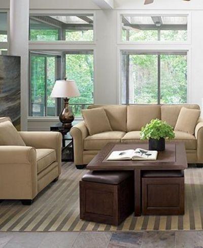 Stunning Simple Macys Living Room Furniture Myia Leather Sofa For Macys Wall Art (Image 17 of 20)