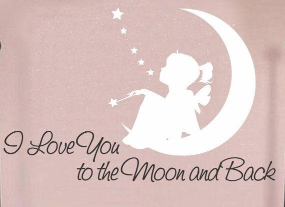 Stylish Ideas I Love You To The Moon And Back Wall Art Lofty In Love You To The Moon And Back Wall Art (Image 18 of 20)