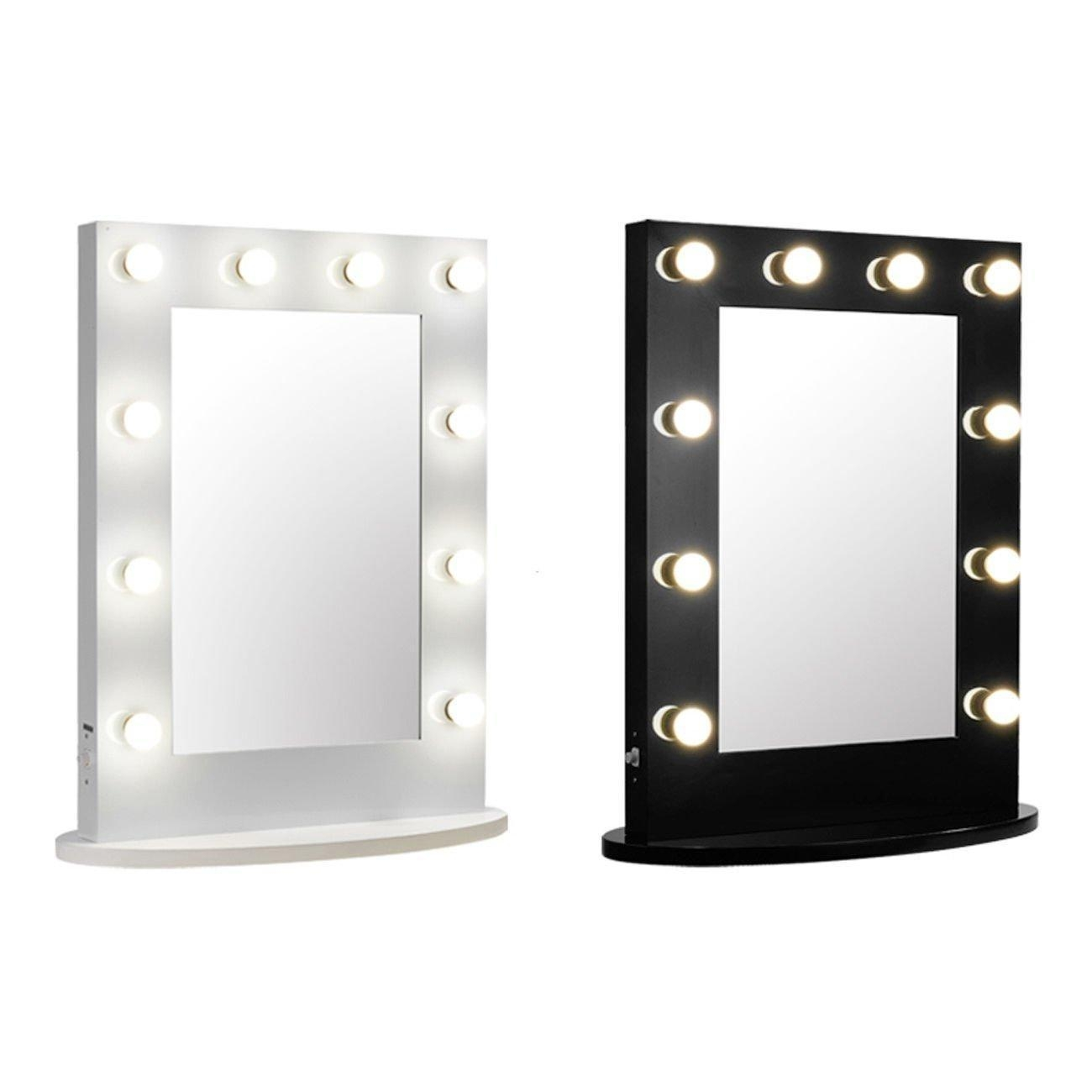 Stylish Ideas Wall Mounted Makeup Mirror With Light Pretentious Inside Lighted Vanity Wall Mirrors (Image 18 of 20)