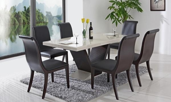Stylish Yet Functional Italian Dining Tables In Recent Italian Dining Tables (Image 17 of 20)