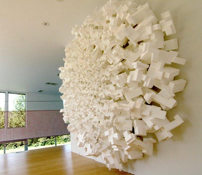 Styrofoam Art • Nifty Homestead Pertaining To Styrofoam Wall Art (View 18 of 20)
