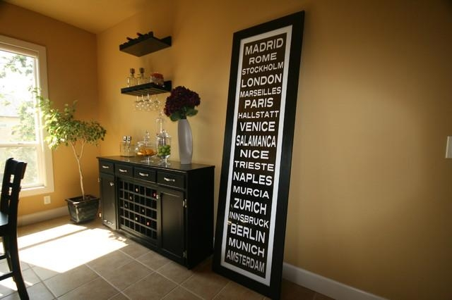 Subway Sign Art – Eclectic – Dining Room – Boise Subway Sign Within Canvas Wall Art For Dining Room (View 18 of 20)