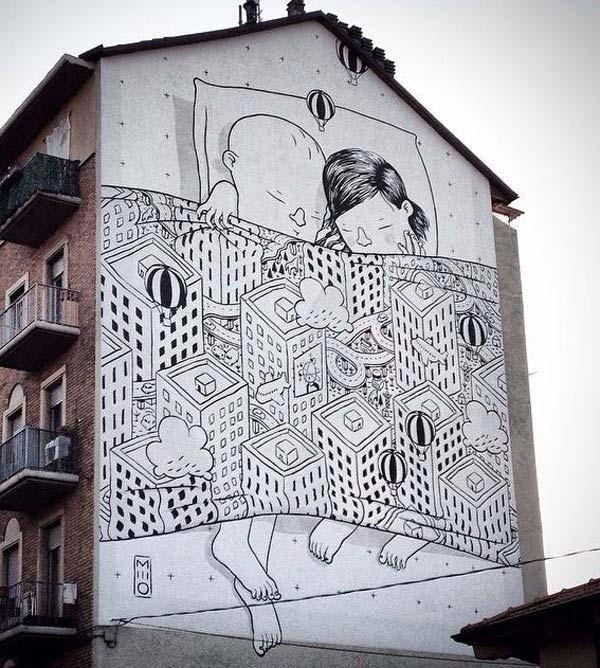 Summer Street Art 2015 | Urban Graffiti Artists Inside Italian Art Wall Murals (View 16 of 20)