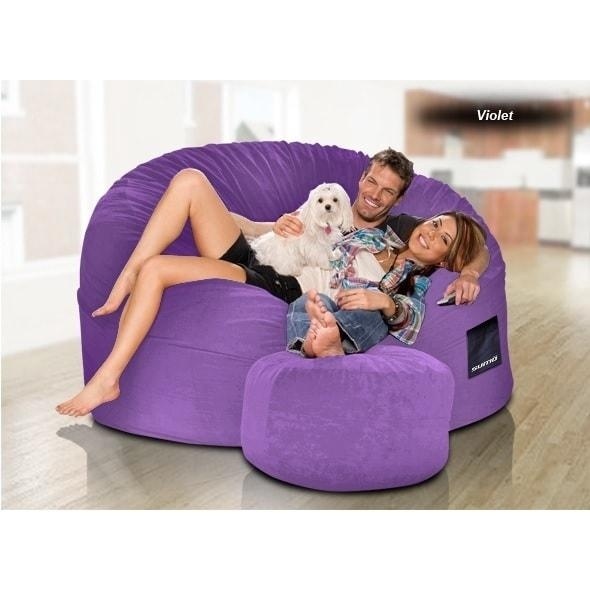 Sumo Gigantor Giant Bean Bag Chair – Free Shipping Today Intended For Giant Bean Bag Chairs (Image 20 of 20)