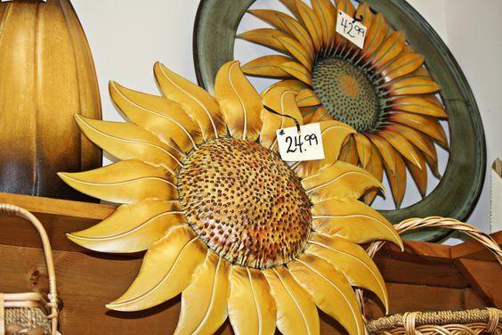 Sunflower Wall Art – Wall Shelves With Metal Sunflower Wall Art (View 3 of 20)