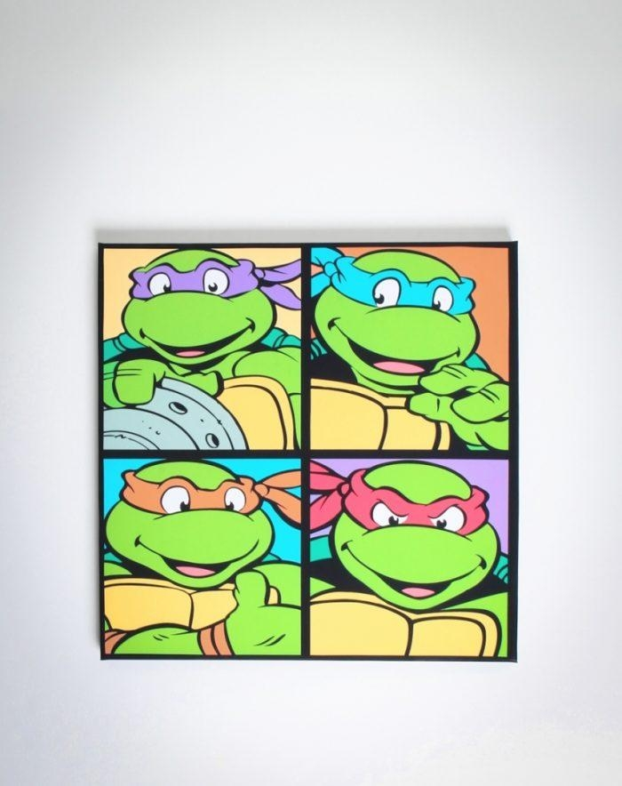 Sunshiny Tmnt Wall Art | Best Office Chair Blog's In Tmnt Wall Art (Image 13 of 20)