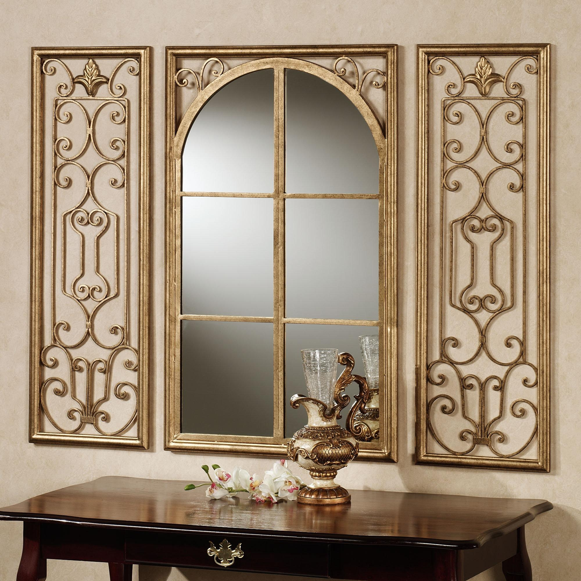 Superb Mirror Walls Deer Tick Chords Ashe Glass Mirror Mirror Inside Decorative Wooden Mirrors (View 9 of 20)