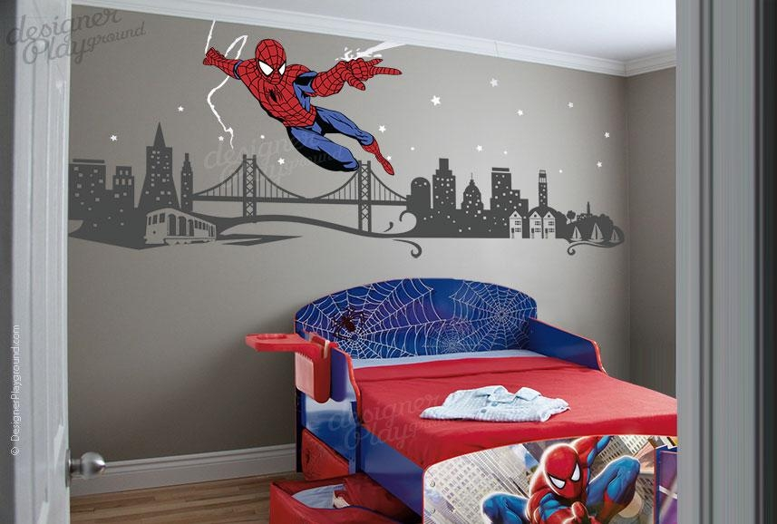 Superhero Wall Decor | Roselawnlutheran With Superhero Wall Art Stickers (Image 16 of 20)