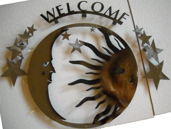 Superior Iron Artz Sun And Moon Metal Wall Art Sculpture Within Sun And Moon Metal Wall Art (View 4 of 20)