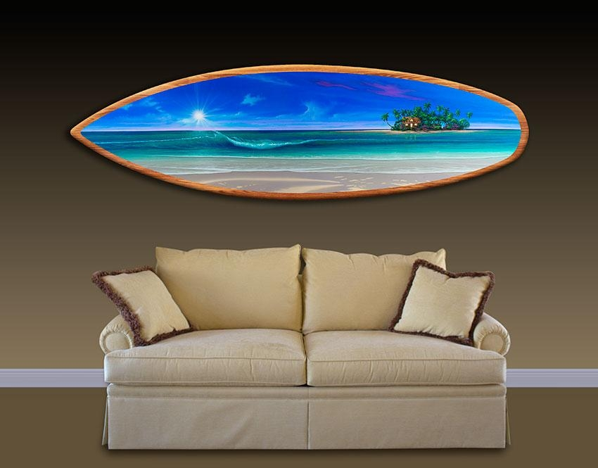 Surfboard Wall Art Interest Surfboard Wall Art – Home Decor Ideas Inside Surf Board Wall Art (View 2 of 20)