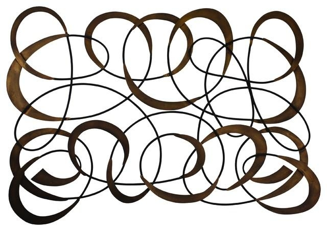 Swirl Wall Art – Traditional – Metal Wall Art Dr (View 2 of 20)