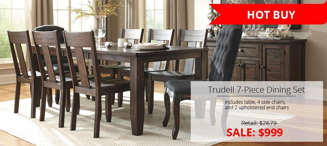 Table And Chair Sets | Cleveland, Eastlake, Westlake, Mentor Regarding Dining Tables And Chairs Sets (Image 20 of 20)