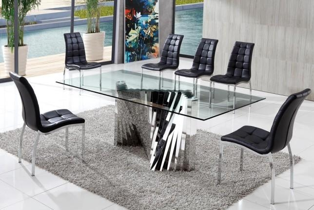 Featured Image of Perth Glass Dining Tables
