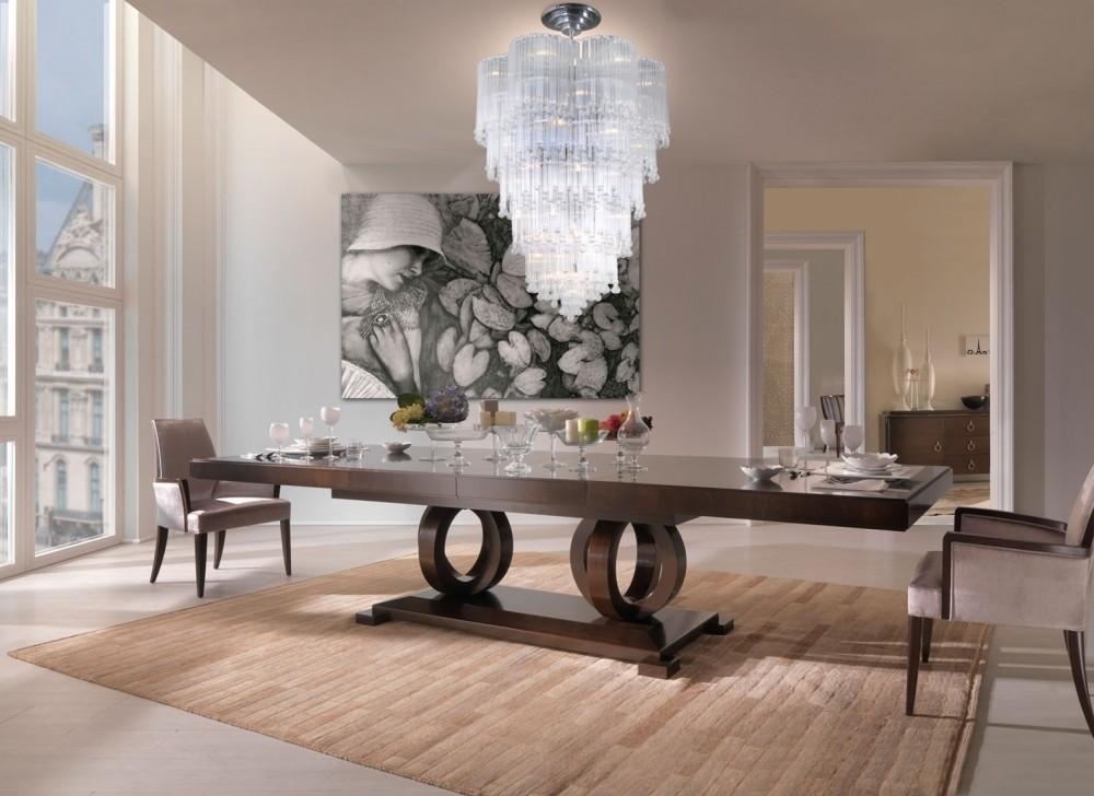Tables Stunning Dining Table Set Industrial Dining Table In Pertaining To Most Popular Italian Dining Tables (View 16 of 20)