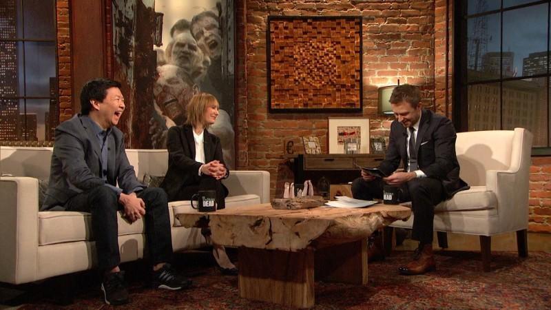 Talking Dead: Season 6, Episode 7 – Amc Regarding Talking Dead Wood Wall Art (View 6 of 20)