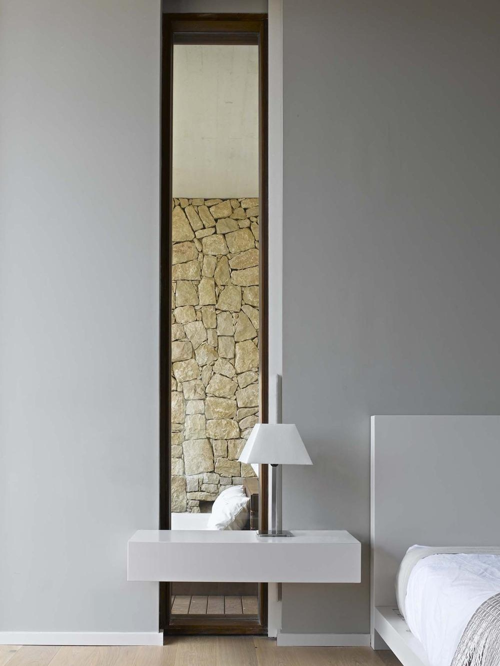 Tall Mirror, Bedroom, Contemporary Home In Monasterios, Spain In Modern Bedroom  Mirrors (