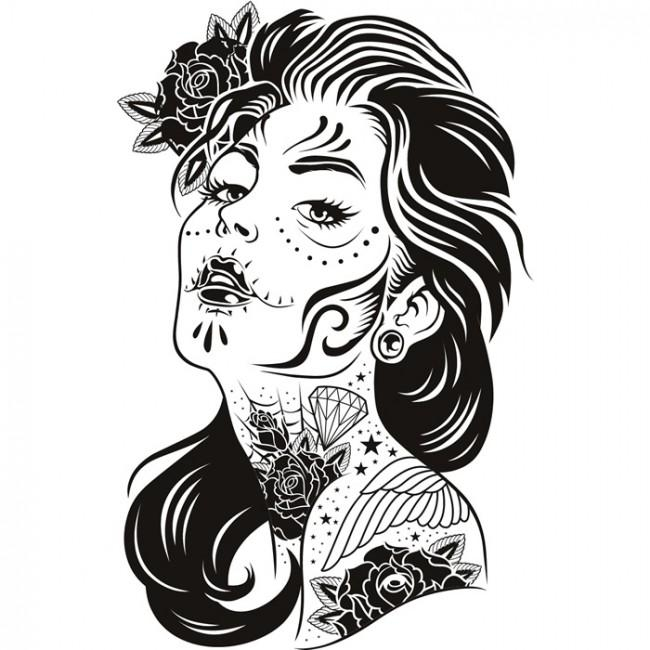 Tattoo Wall Art – Wall Shelves For Tattoos Wall Art (Image 15 of 20)