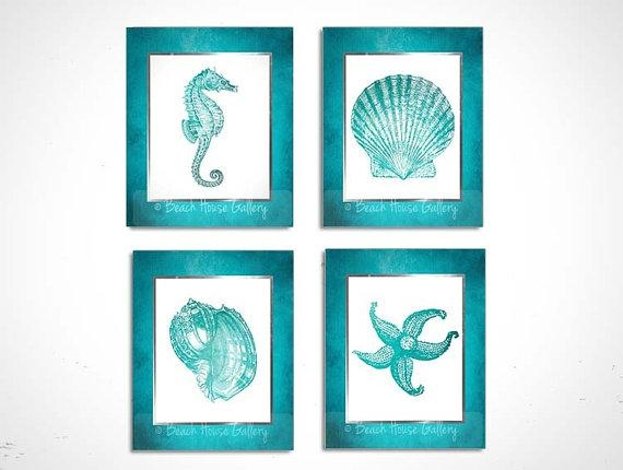Featured Image of Seashell Prints Wall Art