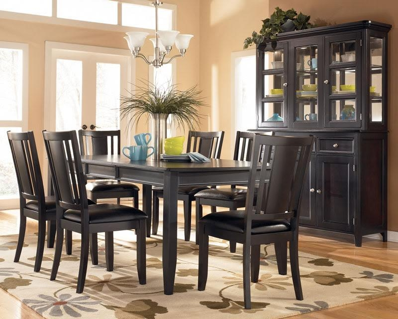 Terrific Dark Wood Dining Room Table And Chairs 44 For Rustic Intended For Current Dark Dining Room Tables (Image 20 of 20)