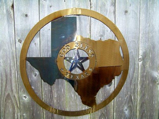 Texas Wall Decor With Texas Star Wall Art (Image 10 of 20)