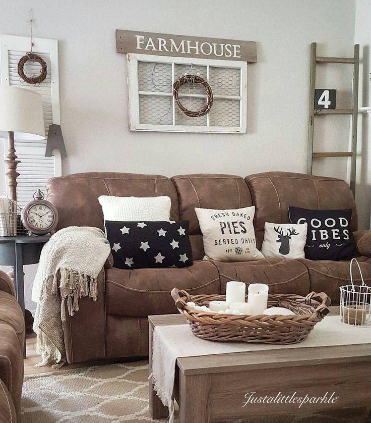 The 25+ Best Brown Couch Decor Ideas On Pinterest | Brown Sofa In Brown Sofa Decors (Image 18 of 20)