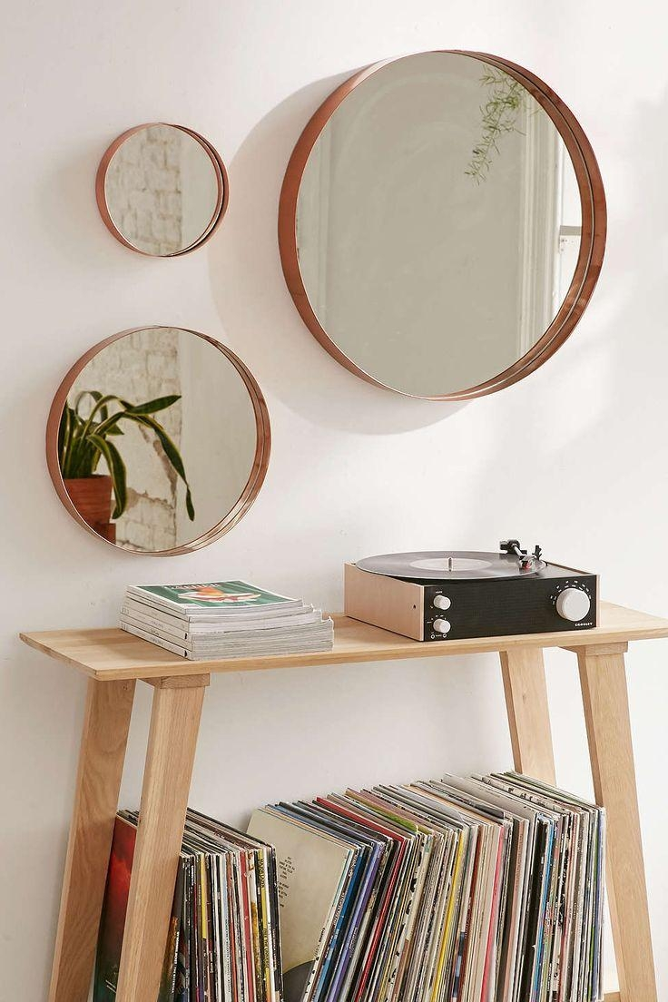 The 25+ Best Circle Mirrors Ideas On Pinterest | Circular Mirror In Hallway Safety Mirrors (Image 18 of 20)