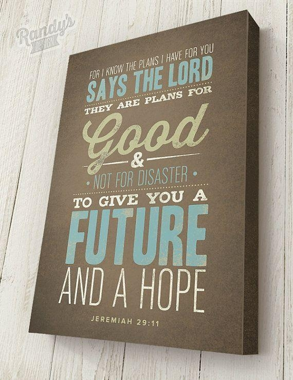 The 25+ Best Jerimiah 29 11 Ideas On Pinterest Intended For Jeremiah 29 11 Wall Art (Image 15 of 20)