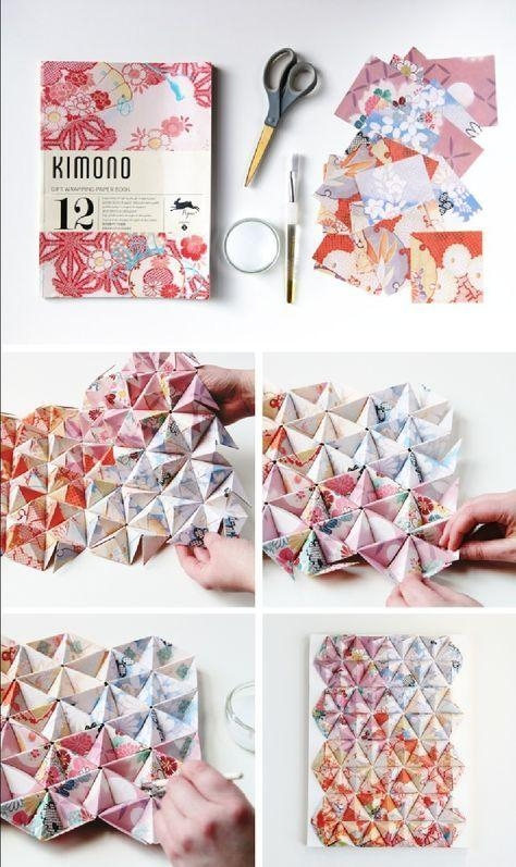 The 25+ Best Origami Wall Art Ideas On Pinterest | Origami Inside Diy Origami Wall Art (Image 18 of 20)