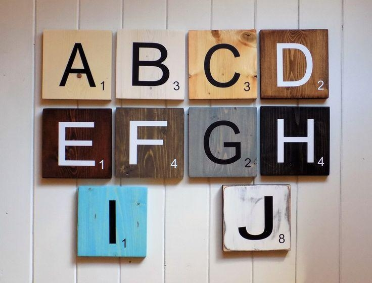 The 25+ Best Scrabble Wall Art Ideas On Pinterest | Scrabble Wall Regarding Scrabble Letter Wall Art (View 9 of 20)