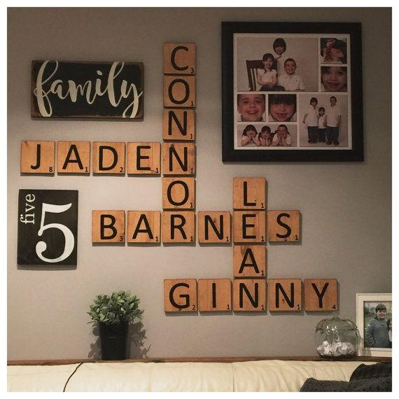 The 25+ Best Scrabble Wall Art Ideas On Pinterest | Scrabble Wall With Regard To Scrabble Names Wall Art (View 11 of 20)