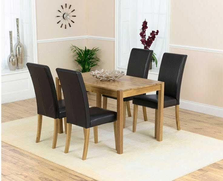 The 25+ Best Solid Oak Dining Table Ideas On Pinterest | Wood With Current Oak Dining Tables And Leather Chairs (Image 19 of 20)