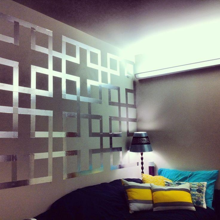 The 25+ Best Tape Wall Art Ideas On Pinterest | Masking Tape Wall Within Duct Tape Wall Art (Image 20 of 20)