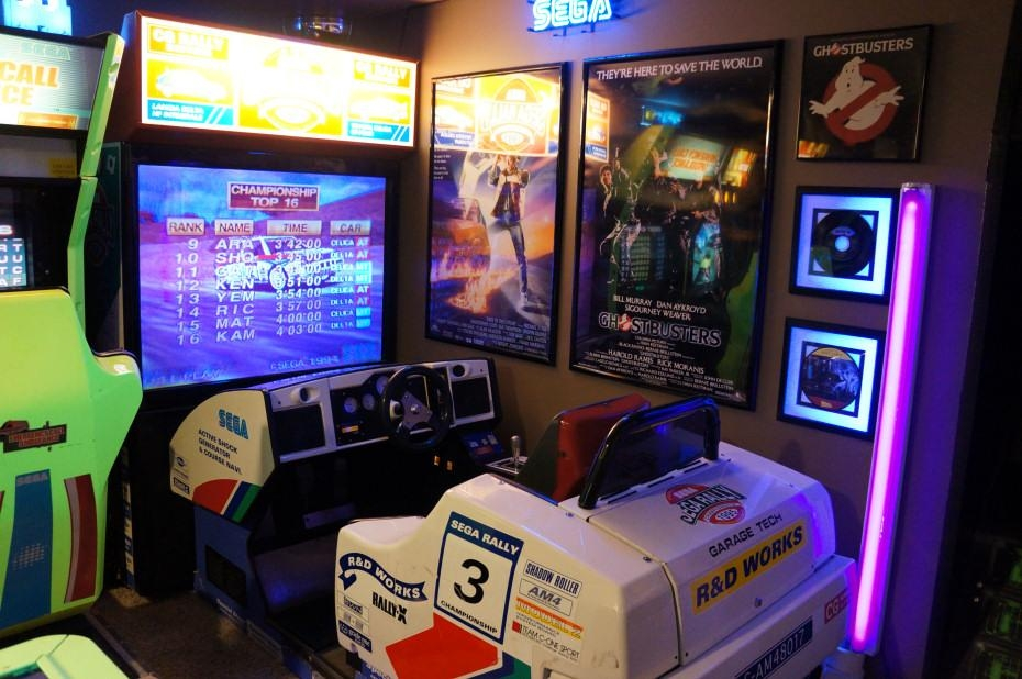 The Basement Arcade For Arcade Wall Art (View 7 of 20)