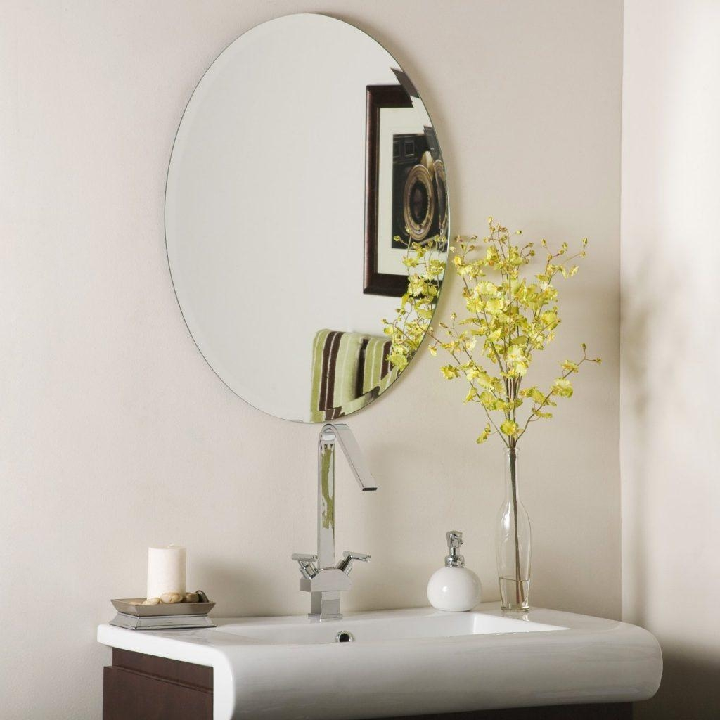 Featured Image of Oval Bath Mirrors