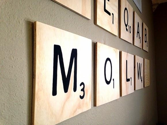 The Bruery | Summer Camp Crafts With Our Friends: Giant Scrabble Inside Scrabble Letter Wall Art (Image 17 of 20)