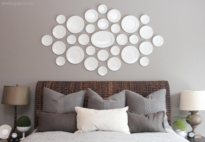 The Easy How To For Hanging Plates On The Wall! | Drivendecor Throughout Decorative Plates For Wall Art (Image 18 of 20)