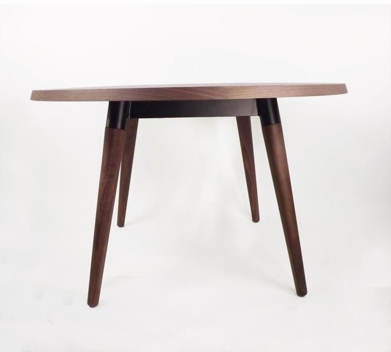 The Milton Dining Table In Real Walnut [Fet1919B] – Dining Within Recent Milton Dining Tables (Image 18 of 20)