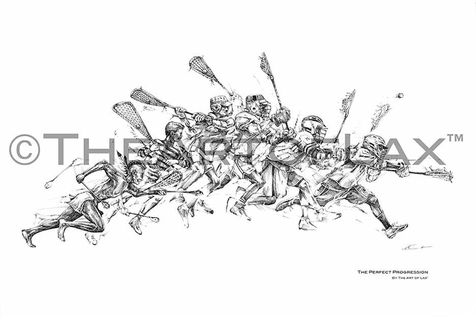 The Perfect Progression – Theartoflax Inside Lacrosse Wall Art (View 11 of 20)