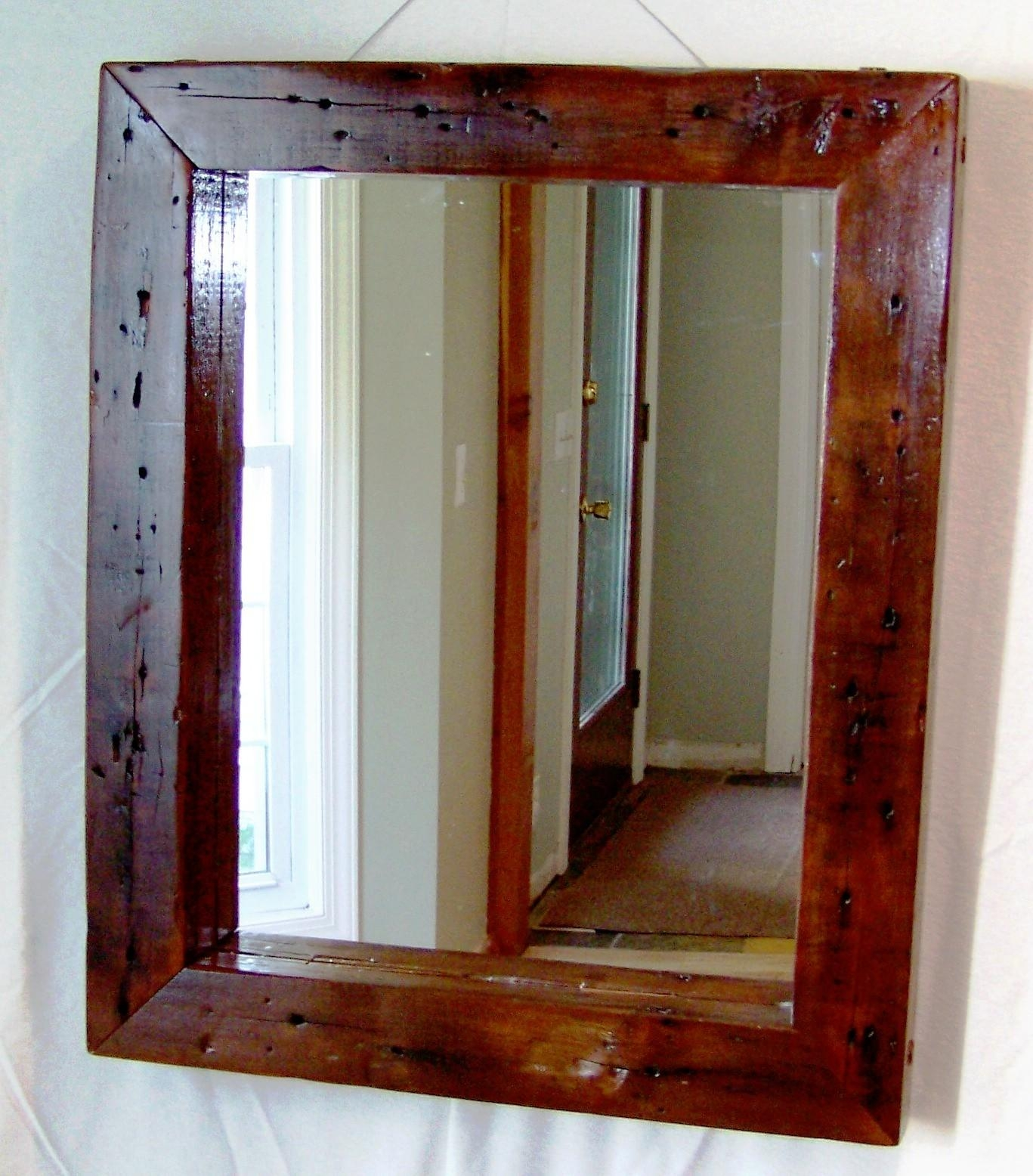 The Reclaimed Wood Mirror — Interior Exterior Homie : Making For Vintage Wood Mirrors (Image 15 of 20)