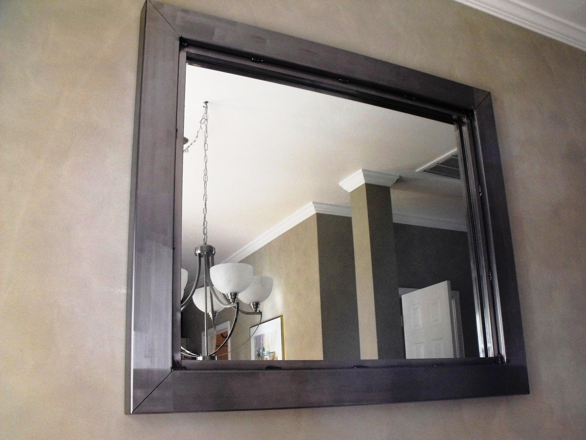 The Steel Appeal » Custom Sized Mirrors Regarding Custom Sized Mirrors (View 2 of 20)