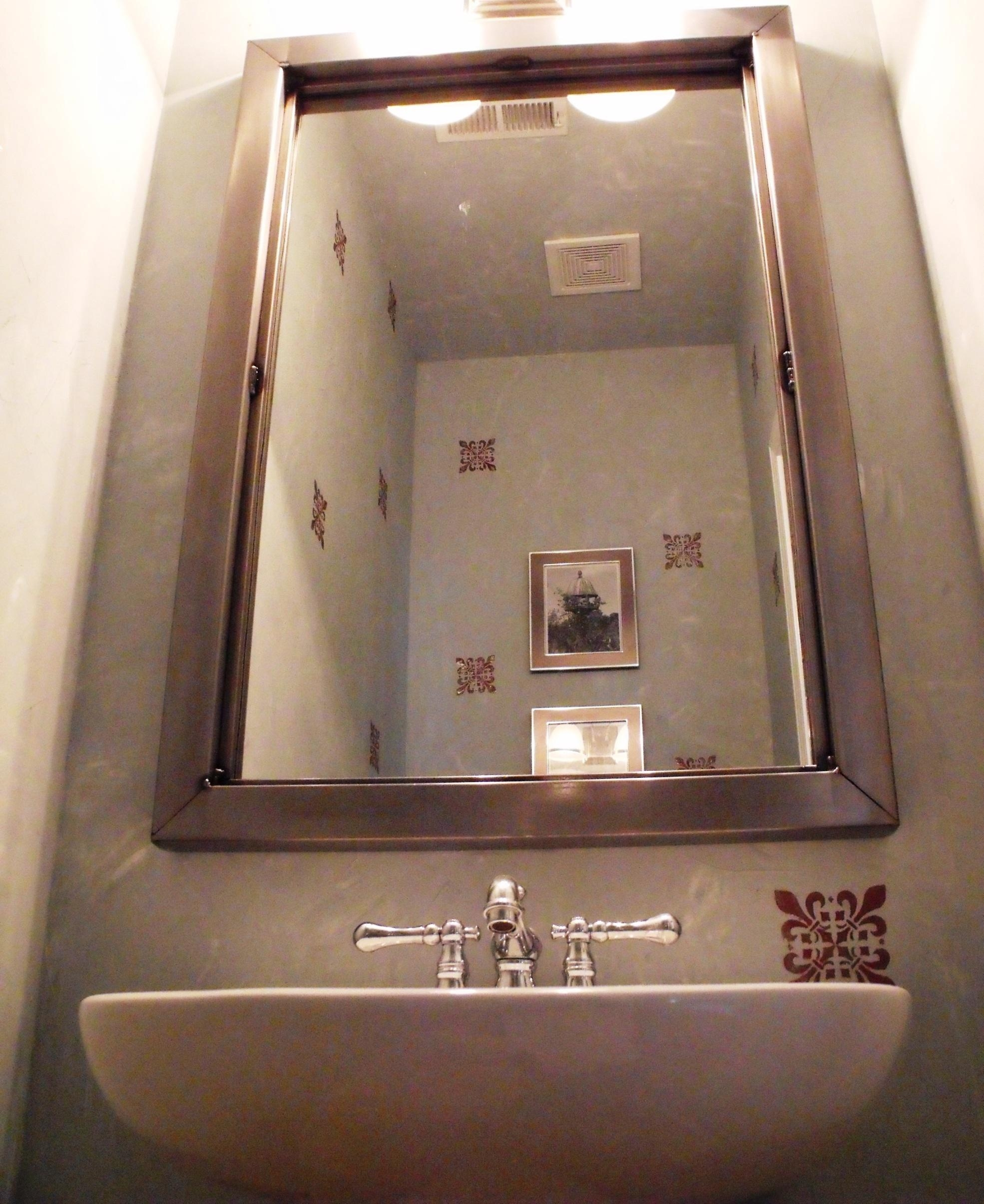 The Steel Appeal » Custom Sized Mirrors Throughout Custom Sized Mirrors (Image 19 of 20)