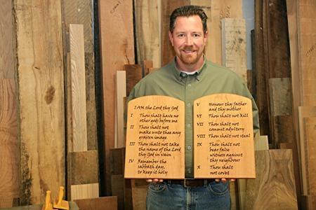 The Ten Commandments Tablets – Gathering Wood Throughout Ten Commandments Wall Art (Image 16 of 20)