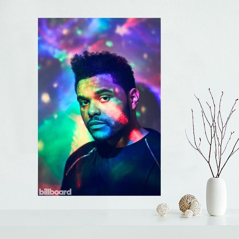 The Weeknd Poster Promotion Shop For Promotional The Weeknd Poster For The Weeknd Wall Art (Image 14 of 20)