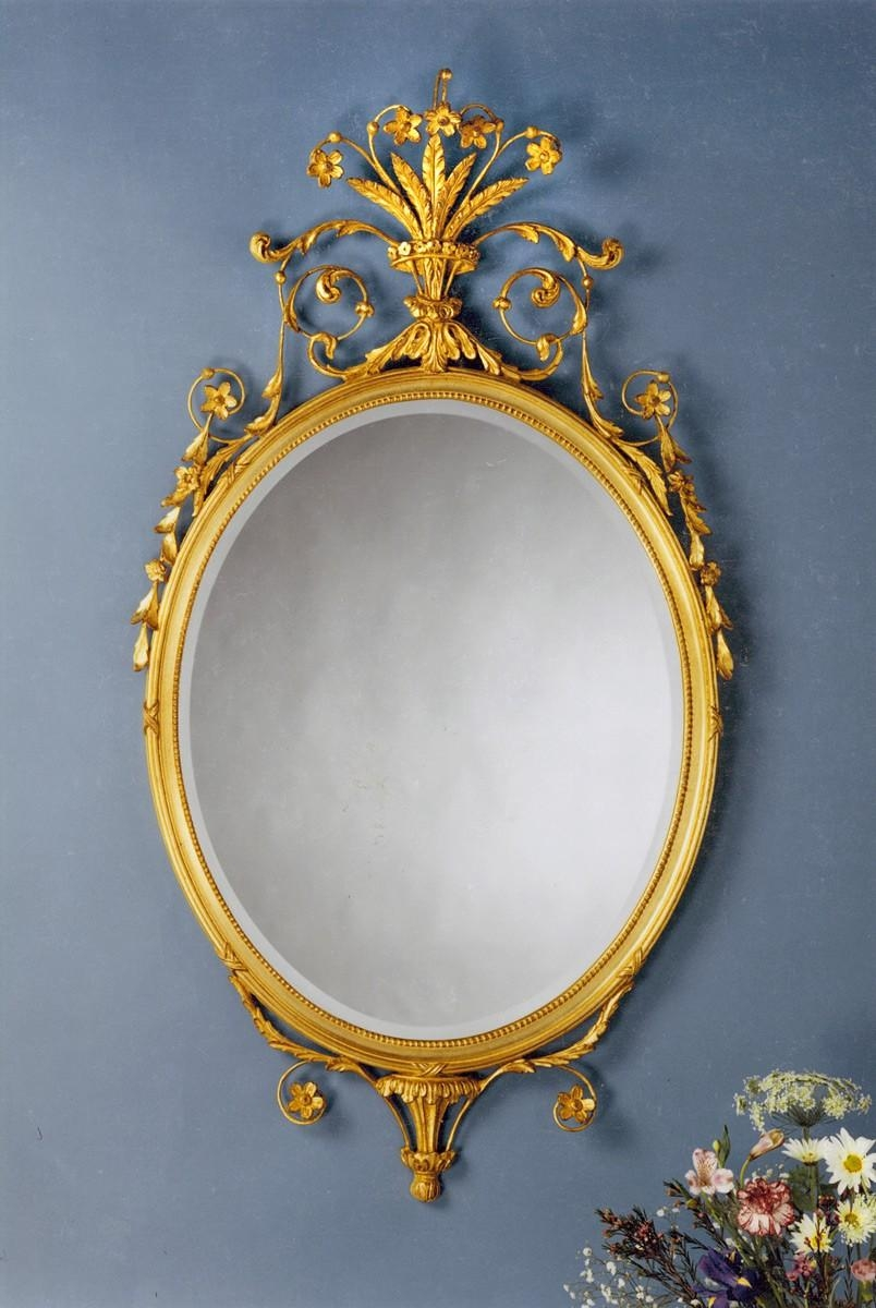 The Well Appointed House – Luxuries For The Home – The Well Regarding Gold Oval Mirrors (Image 20 of 20)