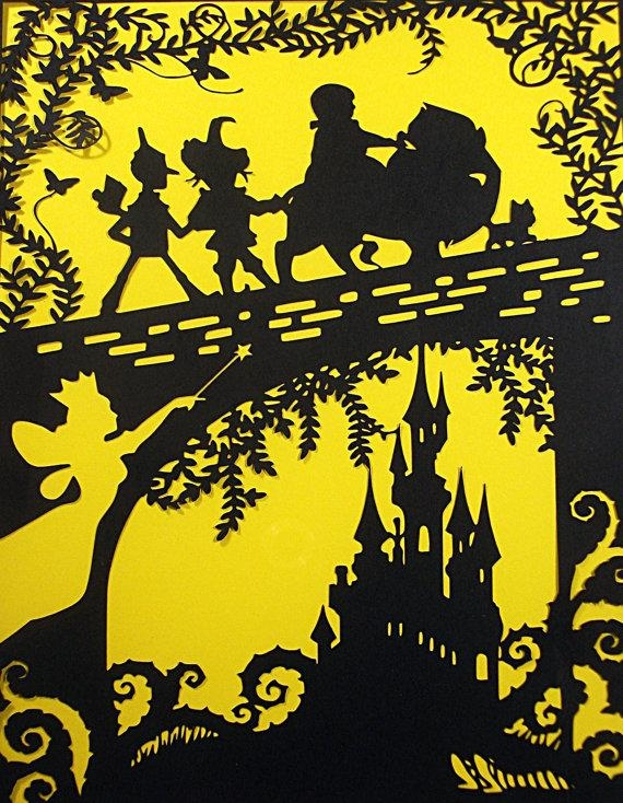 The Wizard Of Oz Paper Cut Wizard Of Oz Wall Art Wizard Of Regarding Wizard Of Oz Wall Art (Image 11 of 20)