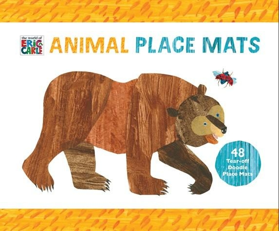 The World Of Eric Carle™ Animal Place Mats | Chronicle Books With Regard To Eric Carle Wall Art (Image 19 of 20)