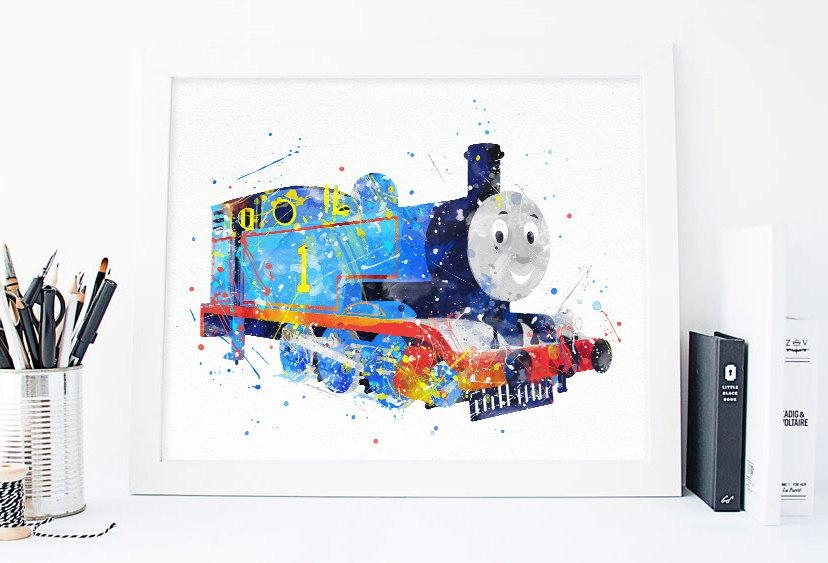 Thomas The Train Printables Thomas The Tank Engine Thomas With Regard To Thomas The Tank Wall Art (Image 16 of 20)
