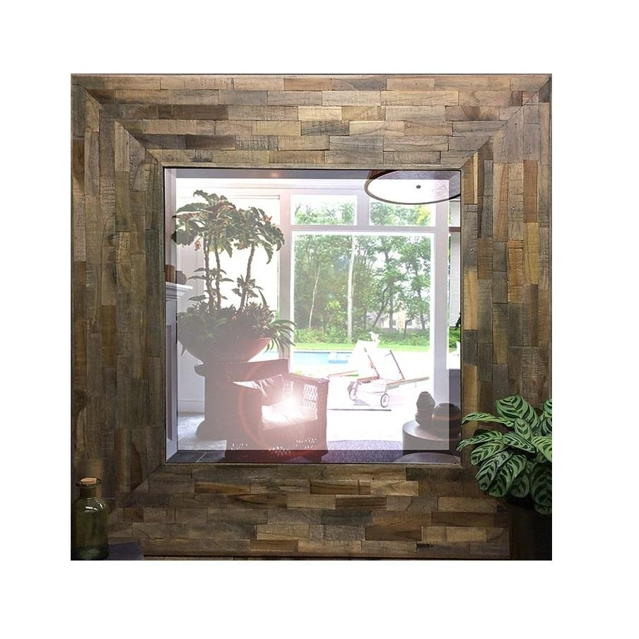 Timber Mirrors | Free Shipping Australia Wide | Luxe Mirrors Inside Timber Mirrors (View 9 of 20)